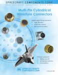 Pages from Spacecraft Multi Pin Cylindrical Miniature Connector Catalog Cover